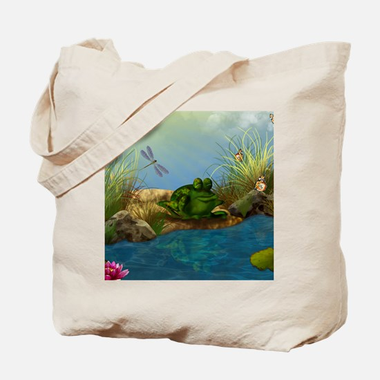 The Sunbather 16x20 Tote Bag