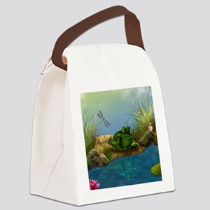 The Sunbather 16x20 Canvas Lunch Bag