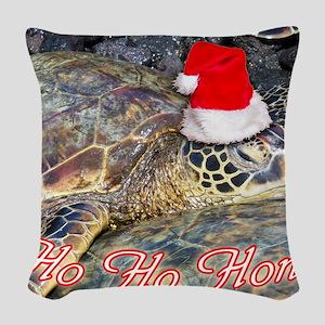 hohohonu Woven Throw Pillow