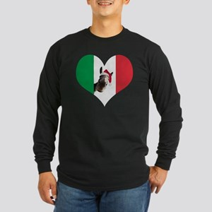 I heart Dominick Long Sleeve Dark T-Shirt