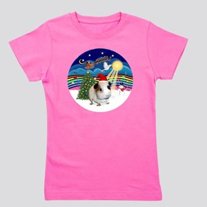 R-XMusic3-GuineaPig1-HAT Girl's Tee