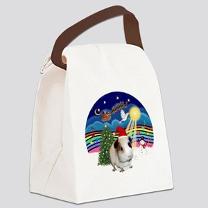 R-XMusic3-GuineaPig1-HAT Canvas Lunch Bag