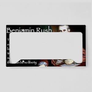 Jan Rush License Plate Holder