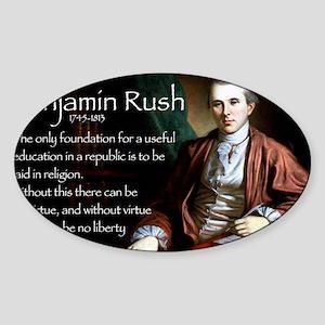 Jan Rush Sticker (Oval)