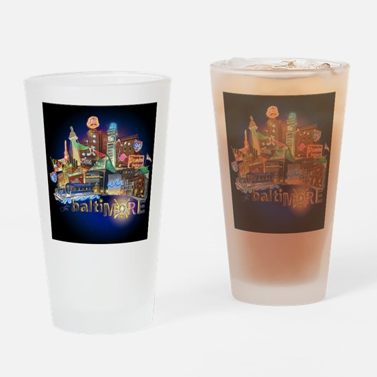 baltiMORE Drinking Glass