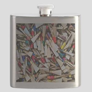 Reeds-tile Flask