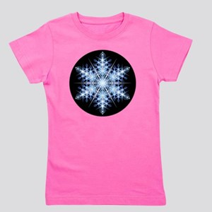 Snowflake Designs - 023 - round Girl's Tee