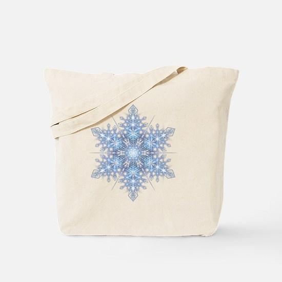 Snowflake Designs - 023 - transparent Tote Bag