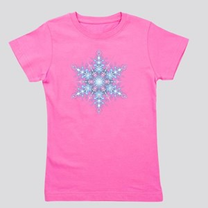 Snowflake Designs - 023 - transparent Girl's Tee