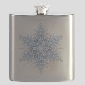 Snowflake Designs - 023 - transparent Flask