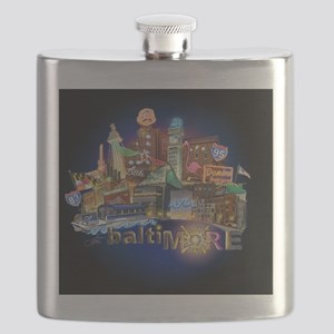 baltimore mousepad Flask