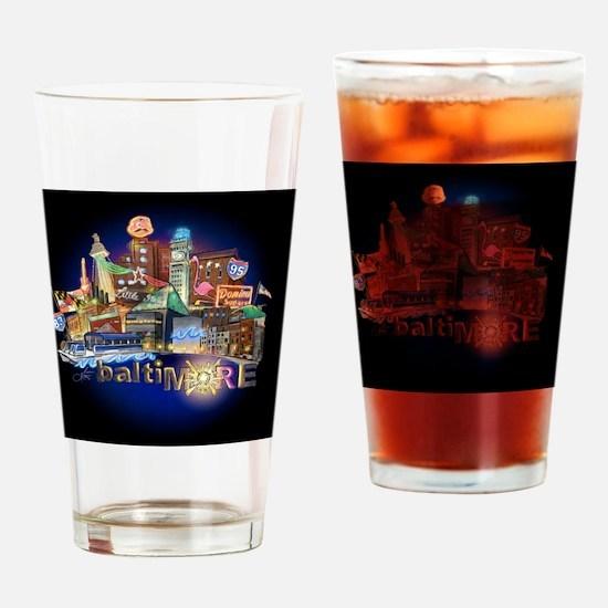 baltimore mousepad Drinking Glass