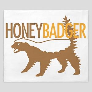 Honey Badger Cool King Duvet