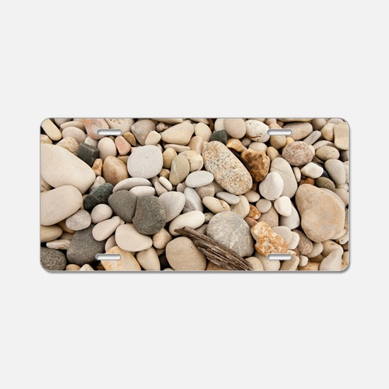 Lake stones Aluminum License Plate