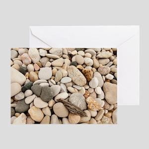 Lake stones Greeting Card