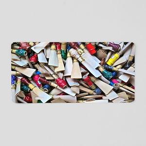 Reeds-laptop skin Aluminum License Plate