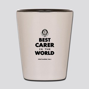 The Best in the World – Carer Shot Glass