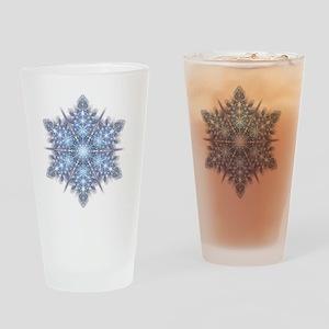Snowflake Designs - 023 - transpare Drinking Glass