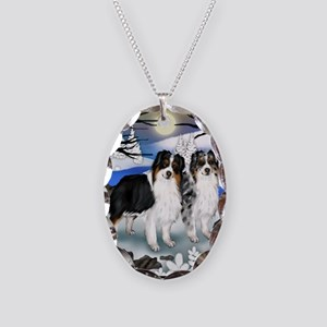 FROZENLAKE 2 2 Necklace Oval Charm