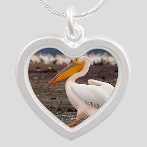 mousepad Silver Heart Necklace
