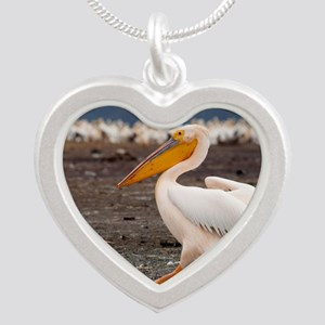 greeting-card Silver Heart Necklace