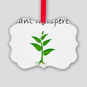 plant whisperer Picture Ornament