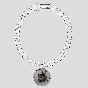 PO13.24x13.24 Charm Bracelet, One Charm