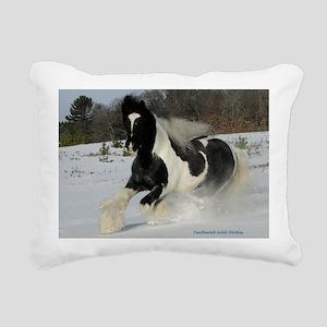 Mickey Snow  Rectangle Rectangular Canvas Pillow