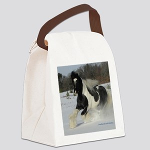 Mickey Snow  Rectangle Canvas Lunch Bag
