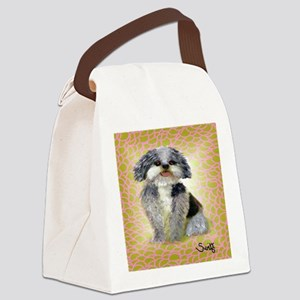 mutt Canvas Lunch Bag