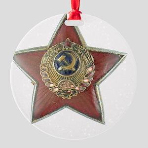 kgb Round Ornament