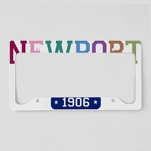 Newport Beach 1906 W License Plate Holder