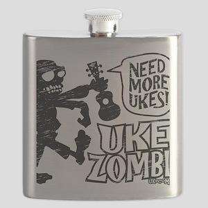 Uke Zombie Flask