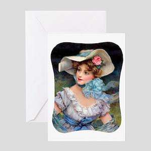 IPAD-Kindle-Kavel-Barbe Greeting Card