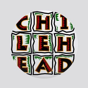 Chilehead Round Ornament