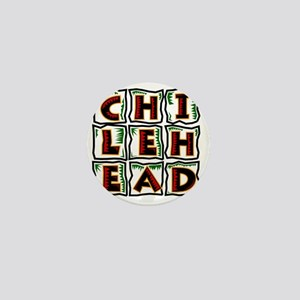Chilehead Mini Button