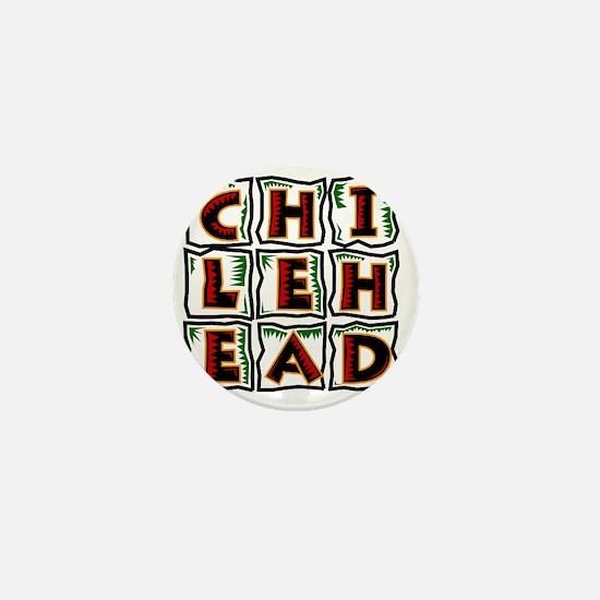 Chilehead Mini Button