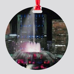 1019 Round Ornament