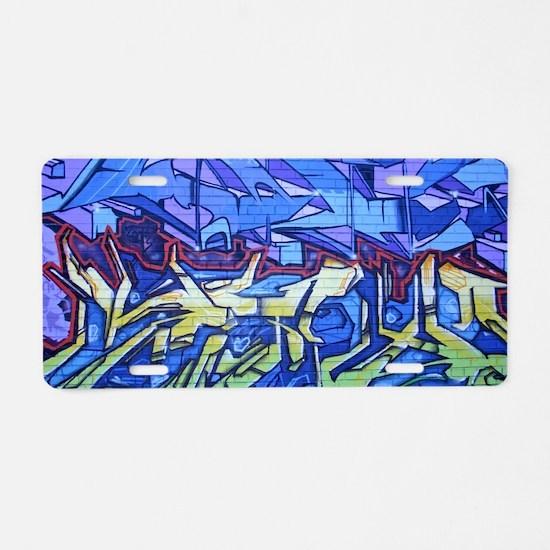 9549 Graffiti4 Aluminum License Plate