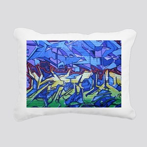 9549 Graffiti4 Rectangular Canvas Pillow