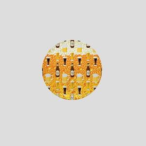 Beer Flip Flops Mini Button