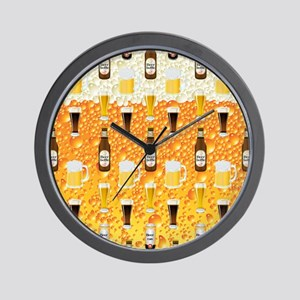 Beer Flip Flops Wall Clock