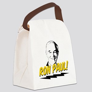 Ron-Paul-Circle Canvas Lunch Bag