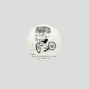 1705_bike_cartoon Mini Button