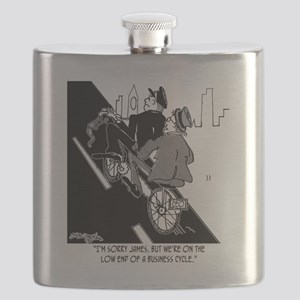 2435_bike_cartoon Flask