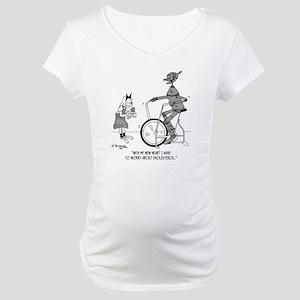 5193_health_food_cartoon Maternity T-Shirt