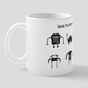 lesshumans Mug