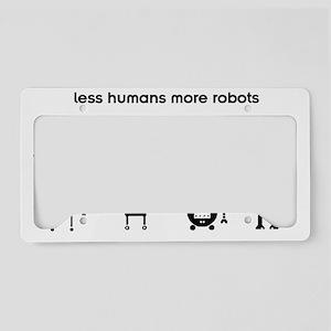lesshumans License Plate Holder