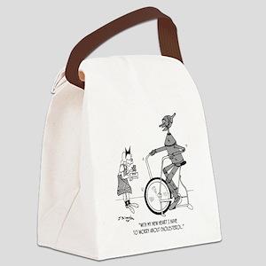 5193_health_food_cartoon Canvas Lunch Bag