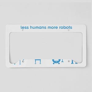 lesshumans_smalls License Plate Holder